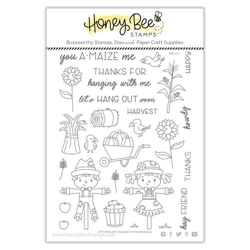 Honey Bee Stamps - Clear Photopolymer Stamps - Let's Hangout