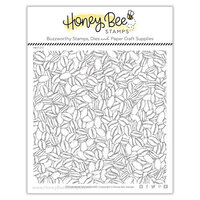Honey Bee Stamps - Clear Photopolymer Stamps - Coffee Bean Background