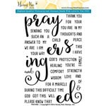 Honey Bee Stamps - Clear Acrylic Stamps - Prayers