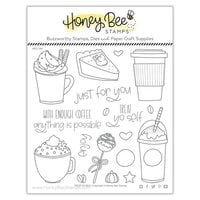 Honey Bee Stamps - Clear Photopolymer Stamps - Treat Yo Self