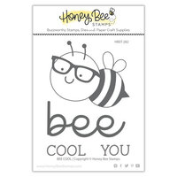 Honey Bee Stamps - Clear Photopolymer Stamps - Bee Cool