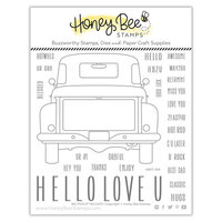 Honey Bee Stamps - Clear Photopolymer Stamps - Big Pickup Tailgate