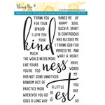 Honey Bee Stamps - Clear Acrylic Stamps - Kindness
