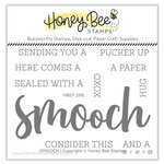 Honey Bee Stamps - Love Letters Collection - Clear Photopolymer Stamps - Smooch Buzzword