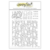 Honey Bee Stamps - Love Letters Collection - Clear Photopolymer Stamps - Hugs Enclosed