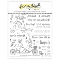 Honey Bee Stamps - Love Letters Collection - Clear Photopolymer Stamps - Enjoy the Ride