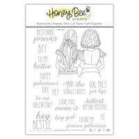 Honey Bee Stamps - Love Letters Collection - Clear Photopolymer Stamps - Gal Pals