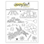 Honey Bee Stamps - Love Letters Collection - Clear Photopolymer Stamps - Loads of Love