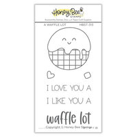 Honey Bee Stamps - Love Letters Collection - Clear Photopolymer Stamps - A Waffle Lot