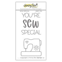 Honey Bee Stamps - Love Letters Collection - Clear Photopolymer Stamps - Sew Special