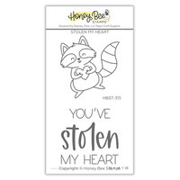 Honey Bee Stamps - Love Letters Collection - Clear Photopolymer Stamps - Stolen My Heart