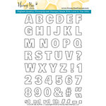 Honey Bee Stamps - Clear Acrylic Stamps - Color Me Alpha