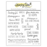 Honey Bee Stamps - Clear Photopolymer Stamps - Hoppy Easter