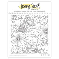 Honey Bee Stamps - Clear Photopolymer Stamps - Spring Blooms Stamp Set