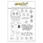 Honey Bee Stamps - Clear Photopolymer Stamps - Easter Basket Builder