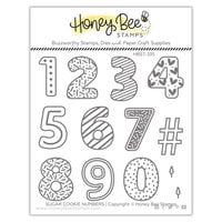 Honey Bee Stamps - Let's Celebrate Collection - Clear Photopolymer Stamps - Sugar Cookie Numbers