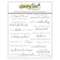 Honey Bee Stamps - Let's Celebrate Collection - Clear Photopolymer Stamps - You Bake Me Happy