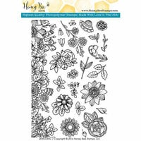 Honey Bee Stamps - Clear Acrylic Stamps - Zen Floral