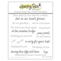 Honey Bee Stamps - Summer Stems Collection - Clear Photopolymer Stamps - Rainbow Bridge