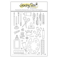 Honey Bee Stamps - Summer Stems Collection - Clear Photopolymer Stamps - Let's Get Crafty