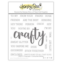 Honey Bee Stamps - Summer Stems Collection - Clear Photopolymer Stamps - Crafty Buzzword