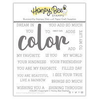 Honey Bee Stamps - Summer Stems Collection - Clear Photopolymer Stamps - Color Buzzword