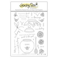 Honey Bee Stamps - Let's Celebrate Collection - Clear Photopolymer Stamps - Just BEEcause