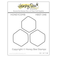 Honey Bee Stamps - Let's Celebrate Collection - Clear Photopolymer Stamps - Honeycomb