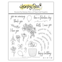 Honey Bee Stamps - Summer Stems Collection - Clear Photopolymer Stamps - Riding By