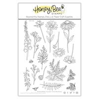 Honey Bee Stamps - Summer Stems Collection - Clear Photopolymer Stamps - Wildflowers