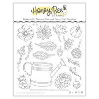 Honey Bee Stamps - Autumn Splendor Collection - Clear Photopolymer Stamps - Garden Harvest Florals