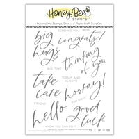 Honey Bee Stamps - Autumn Splendor Collection - Clear Photopolymer Stamps - Thinking Of You Big Time