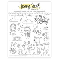 Honey Bee Stamps - Autumn Splendor Collection - Clear Photopolymer Stamps - Better Together