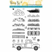 Honey Bee Stamps - Clear Photopolymer Stamps - Little Pickup