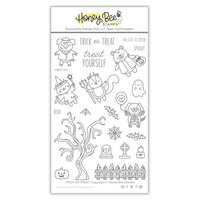 Honey Bee Stamps - Autumn Splendor Collection - Clear Photopolymer Stamps - Trick Or Treat
