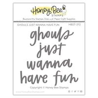 Honey Bee Stamps - Autumn Splendor Collection - Clear Photopolymer Stamps - Ghouls Just Wanna Have Fun