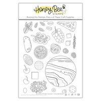 Honey Bee Stamps - Autumn Splendor Collection - Clear Photopolymer Stamps - So Char-CUTE-rie