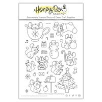 Honey Bee Stamps - Vintage Holiday Collection - Clear Photopolymer Stamps - Merry Little Mice