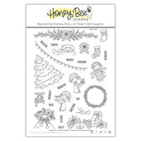 Honey Bee Stamps - Vintage Holiday Collection - Clear Photopolymer Stamps - Loads Of Holiday Cheer
