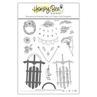 Honey Bee Stamps - Vintage Holiday Collection - Clear Photopolymer Stamps - Sleigh Bells Ring