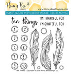 Honey Bee Stamps - Clear Acrylic Stamps - Ten Things