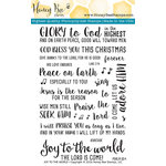 Honey Bee Stamps - Christmas - Clear Acrylic Stamps - Joy To The World