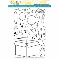 Honey Bee Stamps - Clear Photopolymer Stamps - Celebration Box