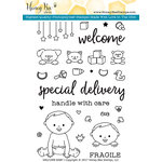 Honey Bee Stamps - Clear Acrylic Stamps - Welcome Baby