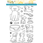 Honey Bee Stamps - Clear Acrylic Stamps - Playful Puppies