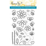 Honey Bee Stamps - Clear Acrylic Stamps - Busy Bees