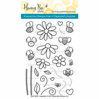 Honey Bee Stamps - Clear Photopolymer Stamps - Busy Bees