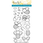 Honey Bee Stamps - Clear Acrylic Stamps - Build-A-Bee
