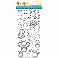 Honey Bee Stamps - Clear Photopolymer Stamps - Build-A-Bee