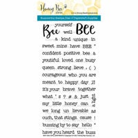 Honey Bee Stamps - Clear Photopolymer Stamps - Bee-You-Tiful Sentiments